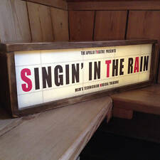 RETRO GIG LIGHT BOX, JAMES BAY,HOOZIER,ADELE,LED ZEPPELIN,KISS,THE KILLERS,NOFX