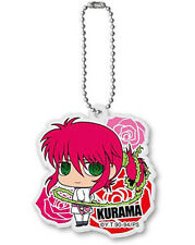 Yu Yu Hakusho Kurama White Outfit Acrylic Key Chain Anime Licensed MINT