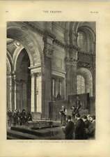 1873 Funeral Of Late Sir Edwin Landseer St Pauls Cathedral