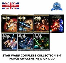 STAR WARS COMPLETE COLLECTION 1-7 SERIES 1 2 3 4 5 6 7 Limited Edition 13 DVD UK