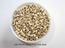 200/400/600/800/1000 Silicone Lined Nano Micro Rings (Silicone Lined!!!)
