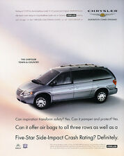 2005 Chrysler Town & Country Van tc - Classic Car Advertisement Print Ad J98