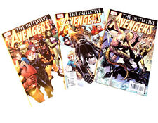 Marvel Comics THE AVENGERS Initiative issues 1-3, spider man, iron man