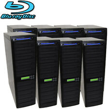 80 SATA Blu-ray CD DVD Disc Burner Daisy Chain Duplicator Multiple Tower Copier