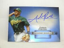 2012 BOWMAN STERLING BASEBALL AUTO PROSPECTS ADDISON RUSSELL