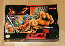 Breath of fire - Super Nintendo - US version - perfect condition