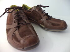 MERRELL ARIA RICH BROWN LEATHER LACE UP WALKING SHOE WOMENS EUR 36 US 6M