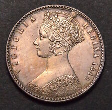 1849 FLORIN GODLESS TYPE VICTORIA  •898
