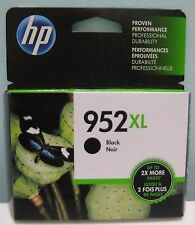 HP 952XL (F6U19AN) HIGH YIELD GENUINE BLACK INK CARTRIDGE, NEW IN BOX