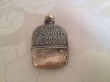 Antique Spirit Flask Tape Measure