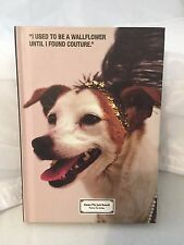 "Juicy Couture Emma the Jack Russell Wallflower Unlined Journal 6"" x 4"" (RARE)"