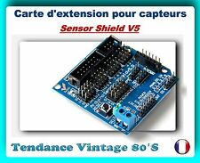 *** CARTE EXTENSION POUR CAPTEURS - SENSOR SHIELD V5 / ARDUINO ***
