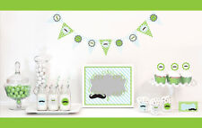 Little Man Birthday Party Baby Shower Decorations Starter Kit