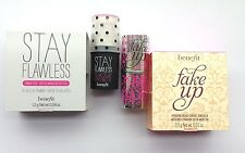 Set of 2 ~ benefit STAY FLAWLESS & FAKE UP (medium) Mini's  Boxed!