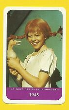 Pippi Longstocking  Cool TV Collector Card from Europe