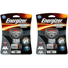 2 Pack Energizer Vision HD+ Focus LED Headlamp (Batteries Included) New