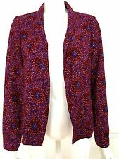 "BNWT New Look ""EZRA"" claret pink red patterned jacket,size 12 RRP £27.99"