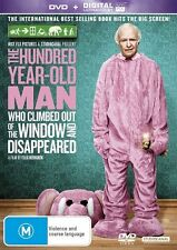 The 100 Year Old Man Who Climbed Out The Window & Disappeared  DVD R4