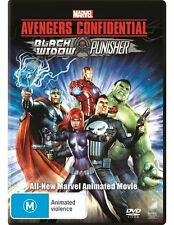 Avengers Confidential: Black Widow and Punisher (Marvel) DVD NEW
