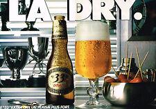 PUBLICITE  1980    LA DRY   bière 33 EXPORT  (2 pages)