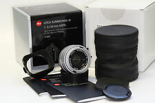 Leica Summicron-M 35mm f/2.0 Aspherical MF Lens Silver