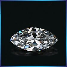 4ct Crystal Carbon Marquise Synthetic Stone.Replaces Diamond Moissanite