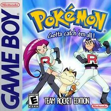 Pokemon Team Rocket Version (Nintendo Gameboy) Like Red, Blue, Yellow - Fan made