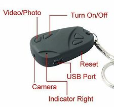 32gb HD videocamera digitale Spy Secret portachiavi mini video Fob DVR AUDIO VOCALE