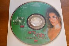 Sex and the City Sixth Season 6 Part One Disc 3 Replacement DVD Disc Only ****
