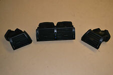 BMW 3 SERIES E46 318i SALOON 2000-2005 SET OF 3 DASH HEATERS INTERIOR FAN VENTS