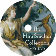 May Sinclair Audiobook Collection in English Unabridged on 1 MP3 DVD Free Ship