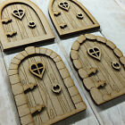 MDF Fairy Door KIT ready to decorate 4 designs to choose from