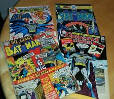 Old Batman Comic lot (4)