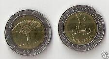 Yemen 20 rials   2004 bimetallica FDC