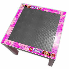 Childrens Lego Friends Top Table - Perfect for Bedrooms & Playrooms