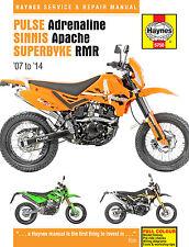 Superbyke RMR 125 200 Haynes Manual Repair Manual Workshop Manual  2007-2014