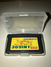 369 in 1 Game Boy Advance Game GBA Pokemon Mario Kirby LOOK FOR FULL LIST! USA