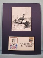Phoebe Pember - The Great Nurse of the Confederacy & First Day Cover