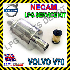 VOLVO V70 S80 2.4 BI FUEL LPG FILTER NECAM compatible 273040-300 SET service kit