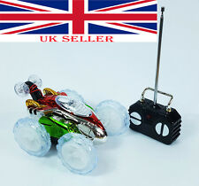 New Radio Control Turbo 360° Twister Stunt Car Vehicle Flashing Lights Toy UK