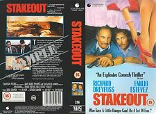 Stakeout, Richard Dreyfuss Video Promo Sample Sleeve/Cover #13809