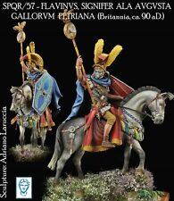 Alexandros Models Mounted Roman Signifer 54mm Model Unpainted Kit LARUCCIA