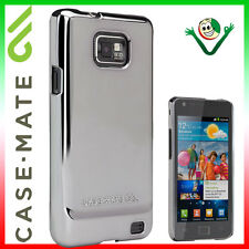 Pellicola+Custodia cover CASE.MATE METALLIC SILVER per Samsung Galaxy S2 i9100