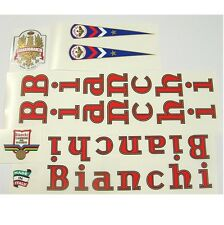Bianchi Vintage Record decal set choice of styles