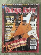 Vintage Guitar Magazine - Back Issue June 2012 Kenny Olson, Johnny Marr