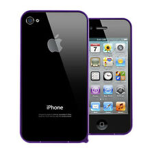 Aluminum Metal Steel Hard Skin Case Cover Bumper Protector For Apple iPhone 4S 4