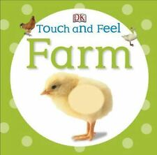 FARM- DK TOUCH AND FEEL BOARD BOOK Dorling Kindersley Children's Animals Baby's