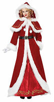 Sexy Classic Mrs Santa Claus Deluxe Christmas Adult Costume