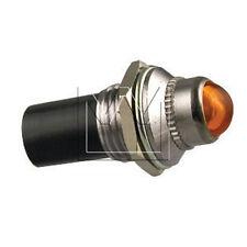MONARK 12V LED KONTROLL - SIGNAL LEUCHTE KONTROLLLAMPE GELB / INDICATOR LIGHT