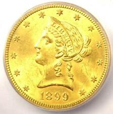 1899-S Liberty Gold Eagle ($10 Coin) - Icg Ms64 - Rare in Ms64 - $5,030 Value!